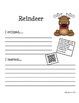 Reindeer Homework Fun using QR Codes (School to Home Connections)