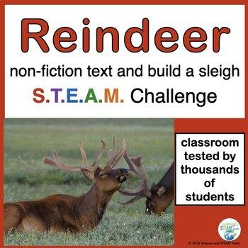 Christmas: Reindeer Informational Reading