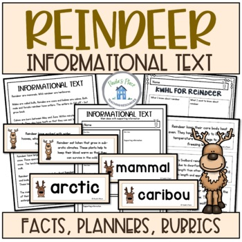 Reindeer - Informational Text