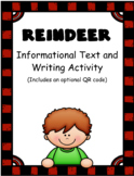 Reindeer: Informational Text and Writing Activity