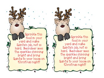 Reindeer Instructions a Positional Emergent Reader