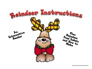 Reindeer Instructions a Positional Emergent Reader