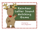 Reindeer Letter Sound Matching Game
