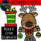 Reindeer Littles: Christmas Clipart {Creative Clips Clipart}