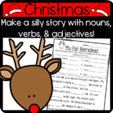 Reindeer Mad Lib! Practice Nouns, Verbs, and Adjectives through a Silly Story!
