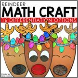 Reindeer Math Crafts  | Christmas Math Activities | Christ