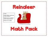 Reindeer Math Pack: Addition and Ten Frames