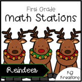 Reindeer Math Stations