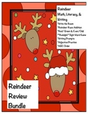 Reindeer Math and Literacy Mini Bundle