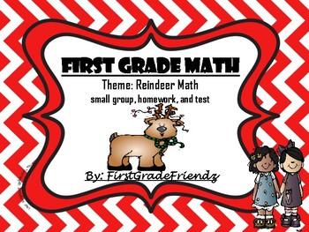 Reindeer Math for Firsties
