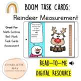 Reindeer Measurement: Boom Task Cards!