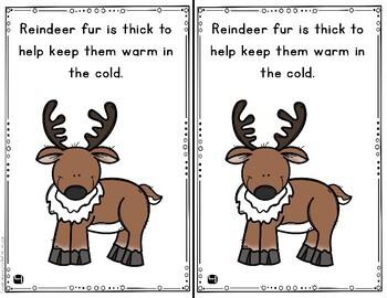 Reindeer Mini Books