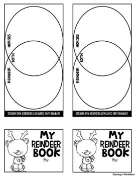 Reindeer Mini-Flip