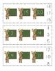 Reindeer Missing Number Clip Cards