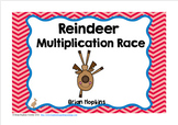 Reindeer Multiplication Race