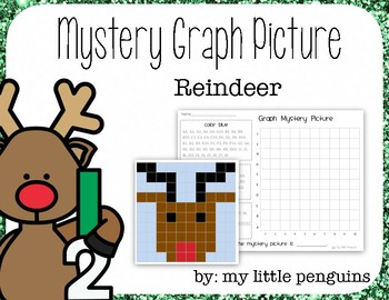 Reindeer Mystery Graph Picture