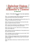 Reindeer Names A Christmas Reader's Theater