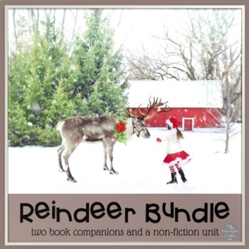 Reindeer Non-Fiction and Book Companion Bundle