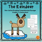Winter Animals Reindeer Reading Comprehension Passage