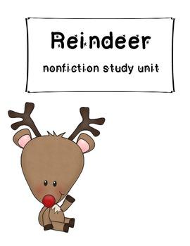 Reindeer Nonfiction Common Core Comprehension Pack