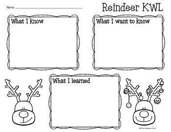 Reindeer - Nonfiction Task Cards and Worksheets