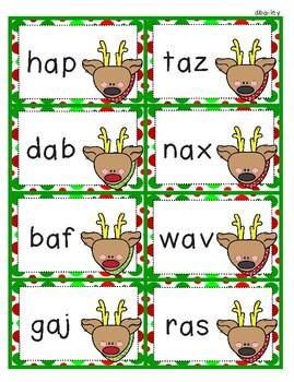 Reindeer Nonsense Words