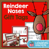 Reindeer Noses Gift Tags