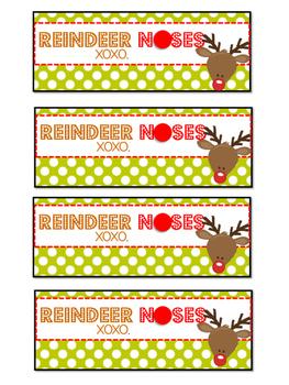 photograph regarding Reindeer Noses Printable titled Reindeer Noses Printable
