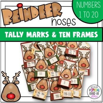Reindeer Noses Tally Marks Match