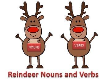 Reindeer Nouns and Verbs