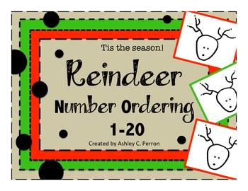 Reindeer Number Ordering--1-20