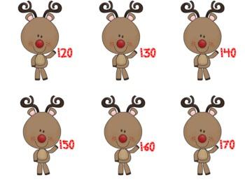 Reindeer Number Packet