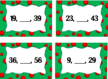 Christmas Number Sense Station