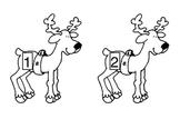 Reindeer Numerical Order