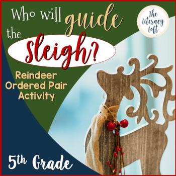 Reindeer Ordered Pair-Christmas Math Activity