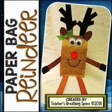 Reindeer Paper Bag Craft --- Reindeer Craft for Christmas