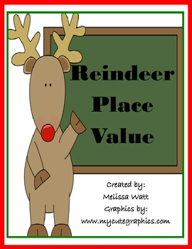 Reindeer Place Value