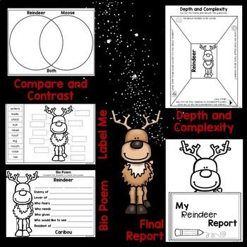 Reindeer Nonfiction Pocket Pal