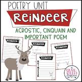 Reindeer Poetry   Winter Poetry   December Poetry