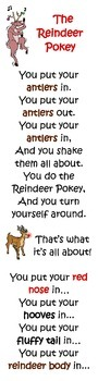 """""""Reindeer Pokey"""" Song"""