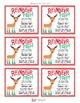 Reindeer Poop! Gift Tags & Bag Toppers FREEBIE!