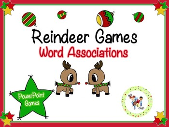 Reindeer PowerPoint Games: Word Associations