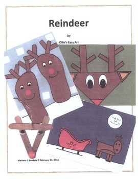 Reindeer Projects for a Week