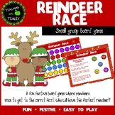 Christmas Boardgame Reindeer Race