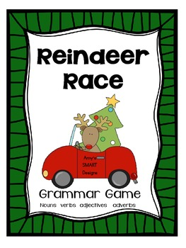 Reindeer Race: Reviewing Parts of Speech