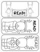 Reindeer Read Bookmarks
