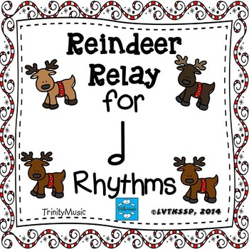 Reindeer Relay Rhythm Game (Half Note)