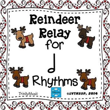 Reindeer Relay Rhythm Game (Half Note)