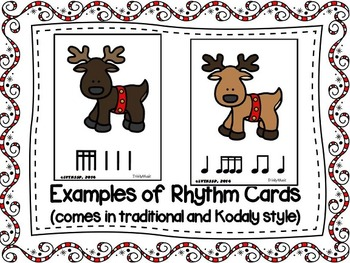 Reindeer Relay Rhythm Game (Sixteenth Notes)