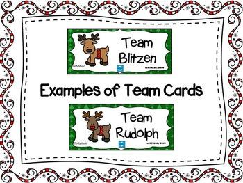 Reindeer Relay Rhythm Game (Ta and Ti-Ti)